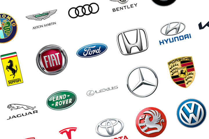 Search for car make and model plates