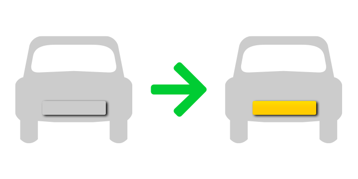 Graphic concept a transfer from a Vehicle to another Vehicle