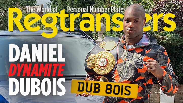 Regtransfers number plates magazine