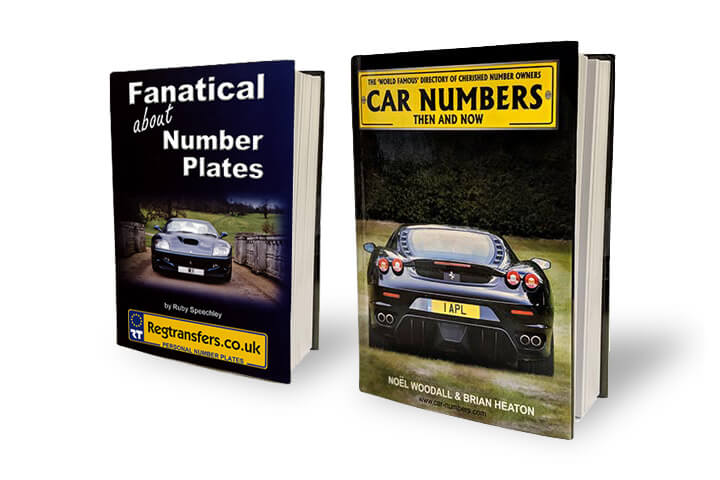 Select from our range of Number Plate books